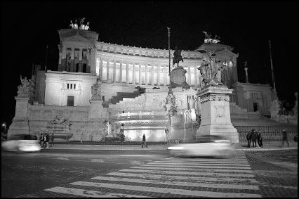 The Vittoriano at night