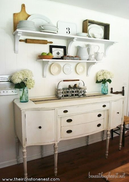 """""""Best DIY Projects"""" Want to do this in my kitchen instead of the ugly ol' bakers rack!"""
