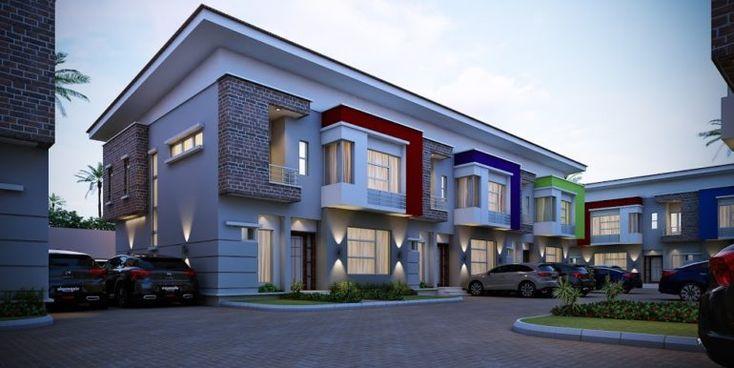 4 BEDROOM DELUXE TERRACE SANDWORTH HOMES, Abraham Adesanya, Lekki Ajah  via MercyHomesUK