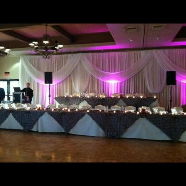 Wedding backdrop at Bulldog Expo & DecorEvents Decor, Bulldogs Expo, Wedding Backdrops, Country Elegant