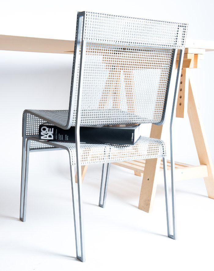 Projet étudiant : La Chaise Rien à Cacher par Hugo Delautre