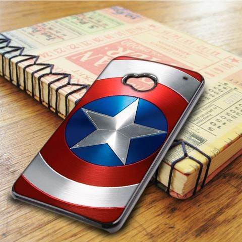 Captain America Shield Logo Superhero HTC One M7 Case