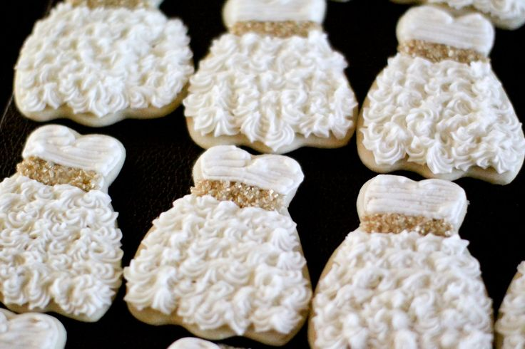 Wedding Shower Cookies.....too cute!!