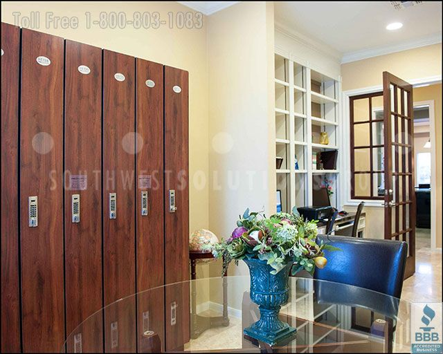 Business & Office Day Lockers for Temporary Secure Storage of ...