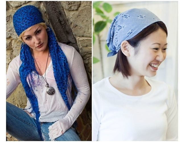 Funtastic Bandana Hairstyles You Should Attempt At Least As soon as