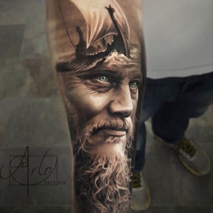 Incredible! #portrait #ocean #sailing #hyperrealism #realistic #forearm #shading
