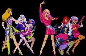 Gem and the Holograms  YES!!!!!!  Always thought Gem was a badass and had so much more fun than that chic Barbie