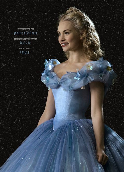 """""""Cinderella 2015 + Cinderella 1950 quote » requested by anonymous"""""""
