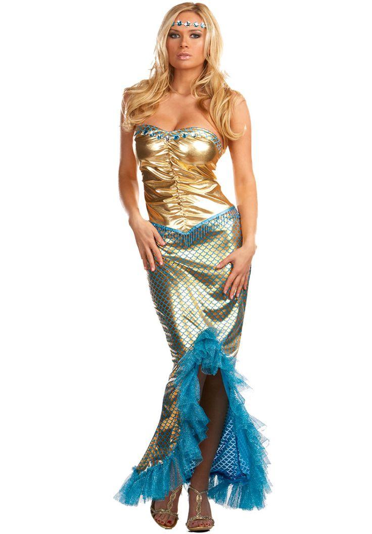 Calendar Costume Ideas : Mermaid sea worthy costume fantasy fancy dress fairy