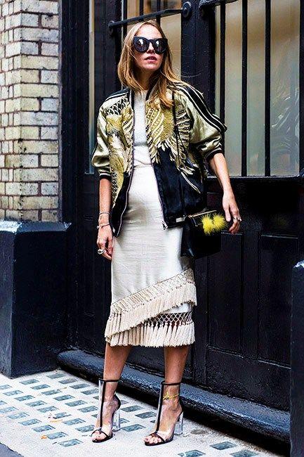 Street Style London Fashion Week Spring 2016 Day 1 - Image 5