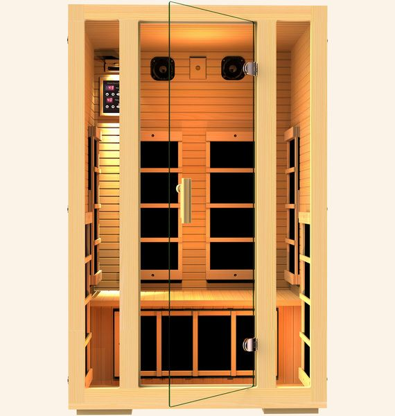 Joyous 2 Person Infrared Sauna, Recovered. MLK 3 Days Sale! Save $500!