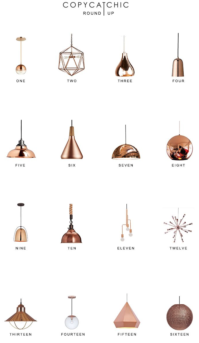 Our fave copper lighting picks by Copy Cat Chic luxe living for less budget home decor 16 of our favorite copper and rose gold chandeliers and pendants http://www.copycatchic.com/2016/12/home-trends-copper-pendant-lighting.html?utm_campaign=coschedule&utm_source=pinterest&utm_medium=Copy%20Cat%20Chic&utm_content=Copper%20Pendant%20Lighting%20Round%20Up