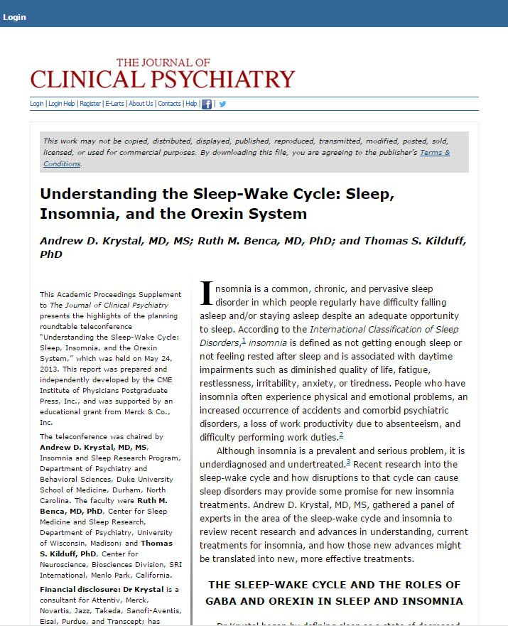 Understanding the Sleep-Wake Cycle Sleep, Insomnia, and the - physical therapy cover letter