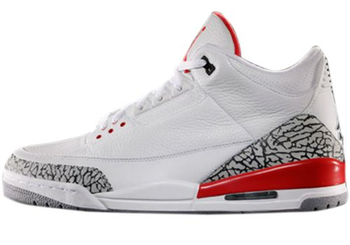 136064-123 Air Jordan 3 Katrina White / Cement Grey - Infrared 23 - Black $130    http://www.jordankicksonfires.com/136064-123-air-jordan-3-katrina-white-cement-grey-infrared-23-black-708.html