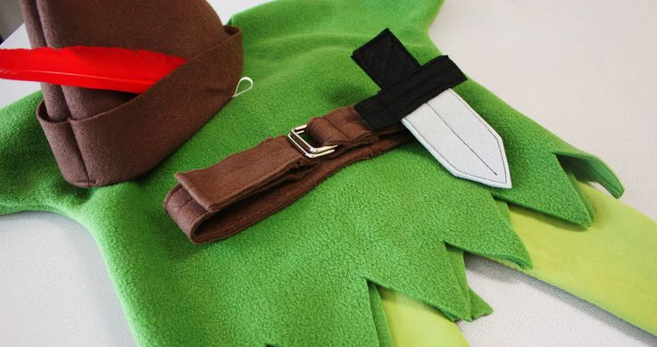 Peter Pan Costume | Allow your child to travel to Neverland in this complete tutorial for a Peter Pan costume. | Maker Crate #halloween #diy #kidscostumes