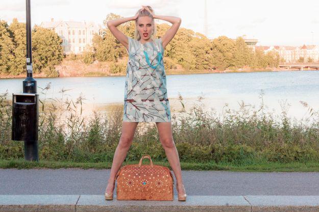 #Marimekko dress shot in Töölö
