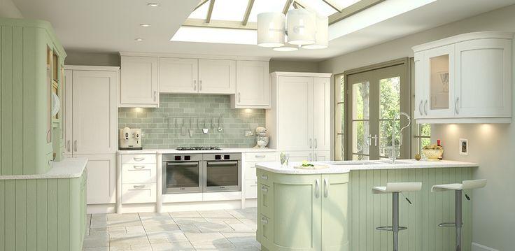 wren living: shaker sage timber kitchen | kitchen | pinterest