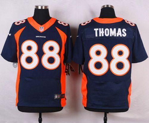 ... reduced nike denver broncos jersey 88 demaryius thomas navy blue alternate  mens stitched nfl new elite b66a8500e