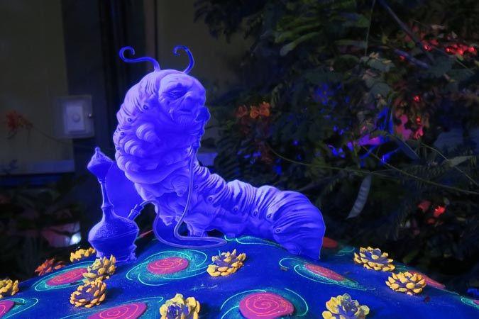 Hookah-smoking caterpillar at Calgary Zoolights | Jill Browne
