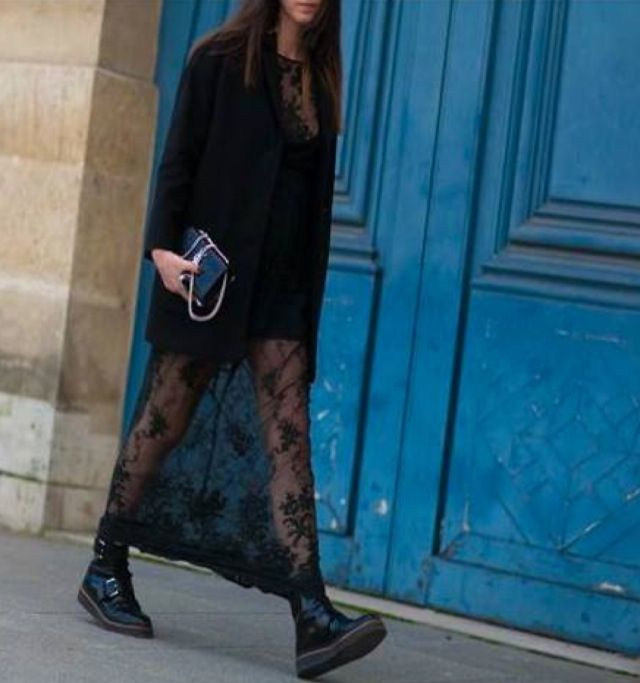 Pfw street style Arabia style.com Lia Makrigeni