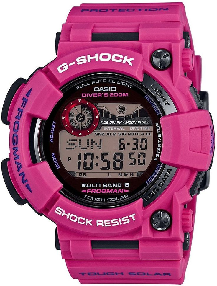 CASIO G-SHOCK GWF-1000SR-4JF FROGMAN MEN IN SUNRISE PURPLE LIMITED F/S from Japa #CASIO