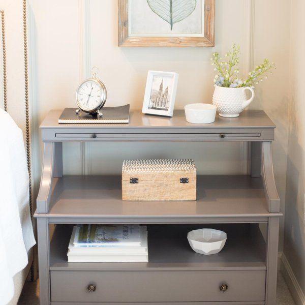 Sidney Open Side Table Ballard Designs Tables Bedroom Bedside Design