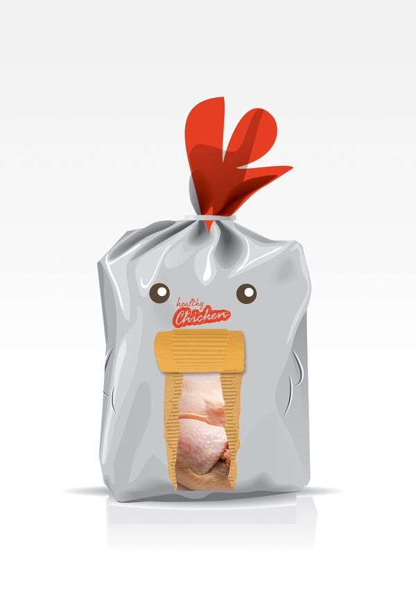 Chicken Package  Art Direction, Illustration, Packaging