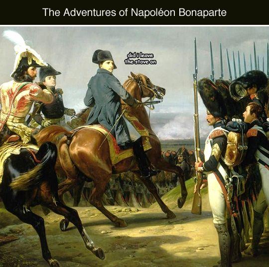 Tastefully Offensive on Tumblr, The Adventures of Napoléon BonapartebyKochei...