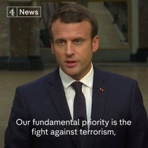French President Emmanuel Macron says any use of chemical weapons in Syria will result in immediate #news #alternativenews