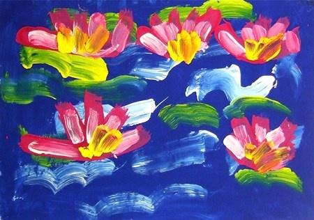 Monet Water Lilies -Kindergarten