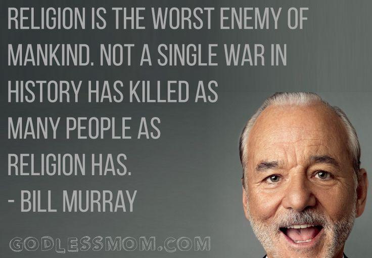 The worst enemy. More: #atheist #atheism