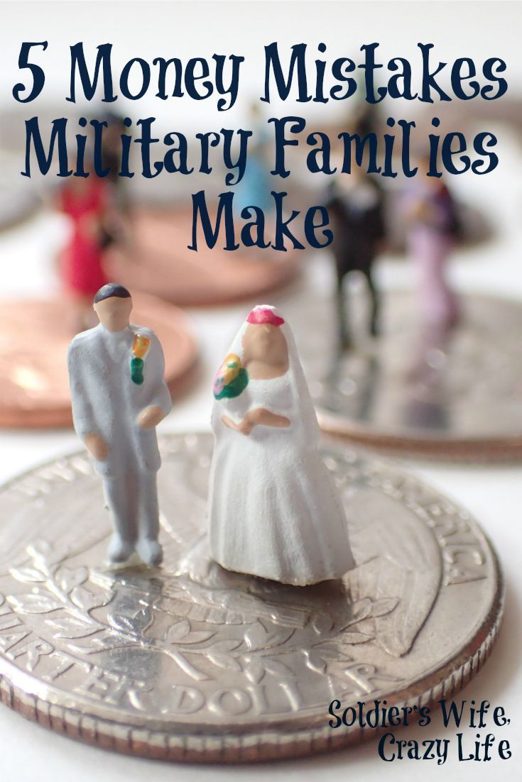 5 Money Mistakes Military Families Make