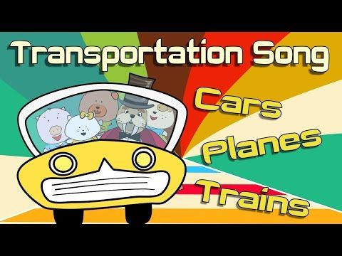"""The """"Transportation Song - Cars, Planes, and Trains"""" is a fun song for children. It introduces different means of transportation."""
