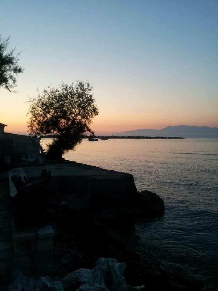 Sunset in Roda Corfu Greece