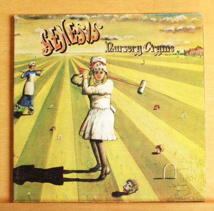 GENESIS Nursery Cryme - Vinyl LP The Musical Box Harold the Barrel Seven Stones