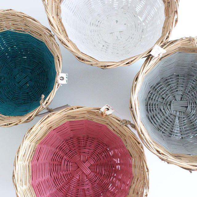 color splash! Numero74 rattan basket