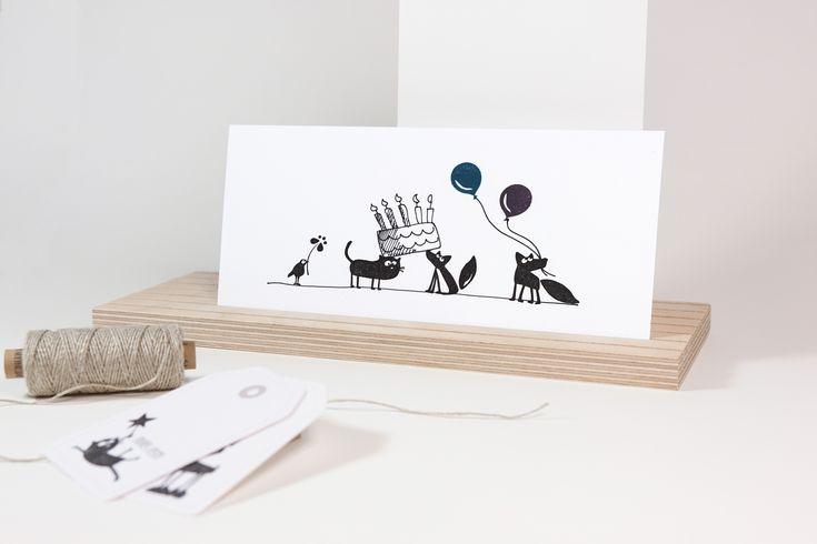 Geburtstagskarten und vieles mehr ganz einfach selber gestalten mit #Stempeln von cats on appletrees!