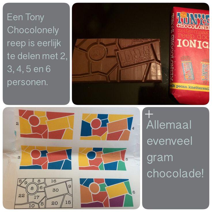 Tony Chocolonely altijd eerlijk delen!  AK