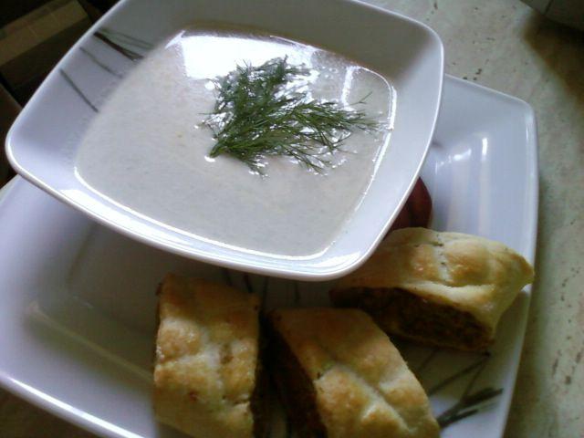Zupa kremowa pieczarkowa
