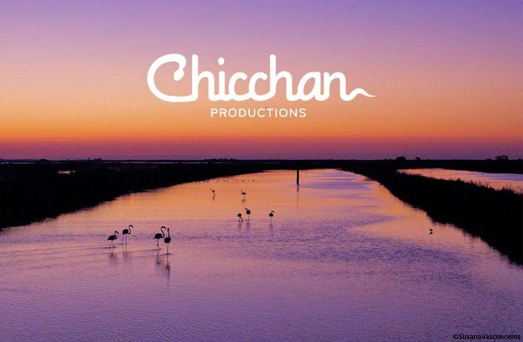 Identidade CHICCHAN Productions. Aplicação a negativo sobre foto. #adlcdesign