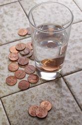 Clean pennies stir to dissolve 1 tsp salt and 188 cup white vinegar