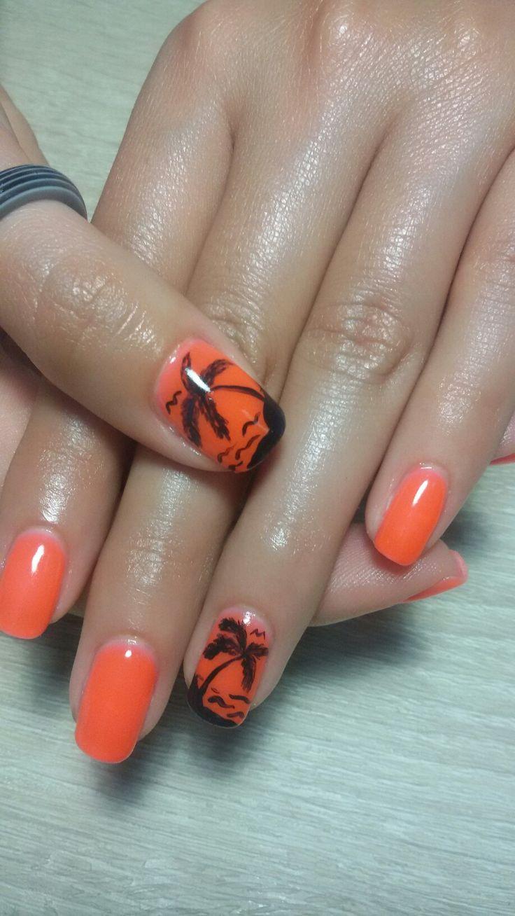Φοινικες σε λαμπερο πορτοκαλι!!! 😊 !!!
