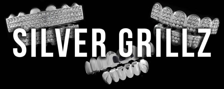 Shop .925 Sterling Silver Mouth Grillz or White Gold Teeth Today!
