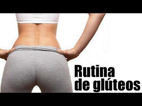 Rutina de ejercicios de glúteos.