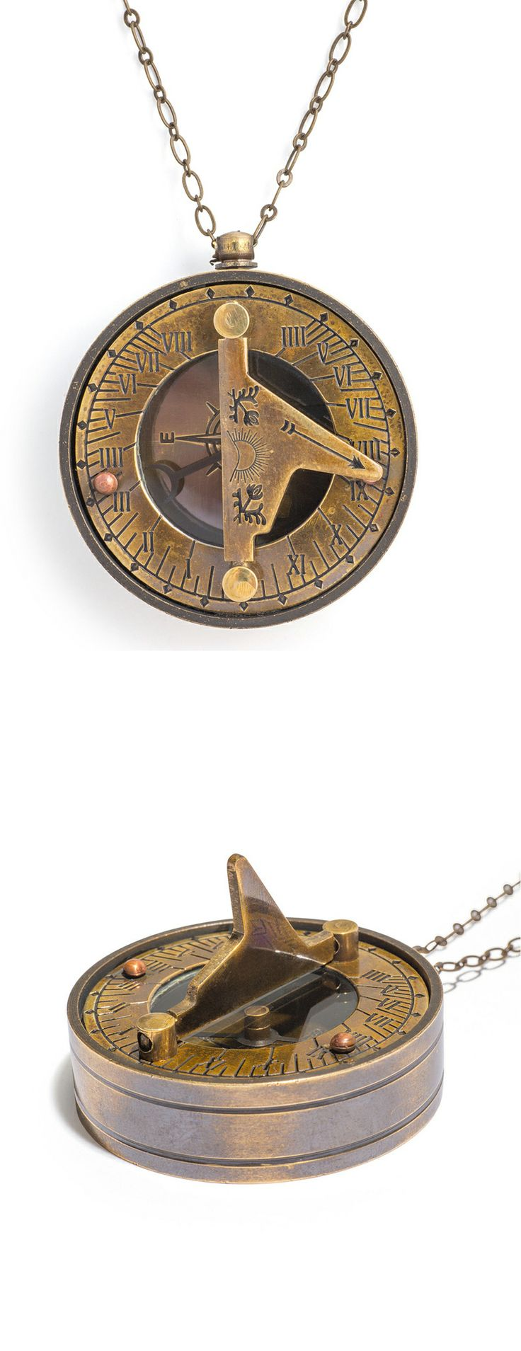 Sundial Necklace - love it!!!