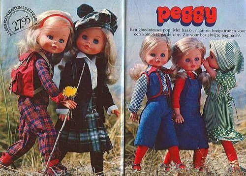 PAR AMOUR DES POUPEES :: 1976, PEGGY, 44CM, FURGA