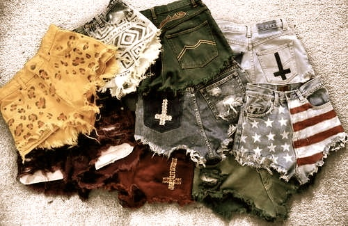 Shorts. Want them all!High Waist, Highwaisted Shorts, Summer Style, Outfit, Fashion Craze, Diy Clothing, Jeans Shorts, Waist Shorts, Dreams Closets