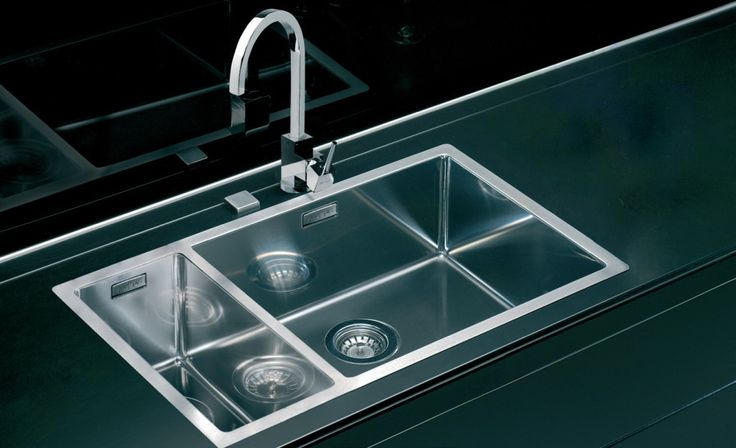 Alveus Quadrix 150, flush or flat-mount sink