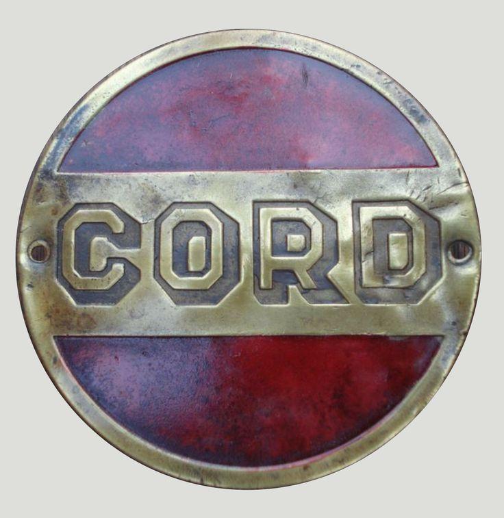 Cord Car Badge 3