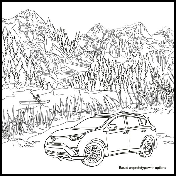 adult coloring pages outdoors - photo#43